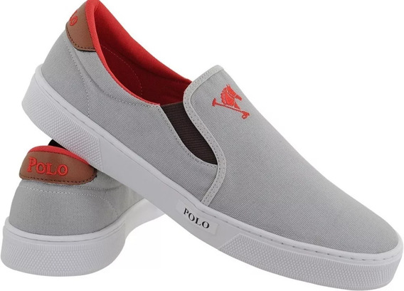 Kit 2 Sapatênis Polo Joy Slip On Tenis Unissex Promo