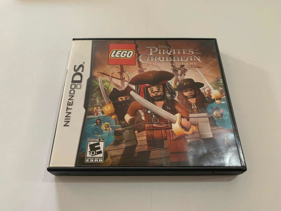 Piratas Do Caribe Nintendo Ds 2ds 3ds Pirates Caribbean Game
