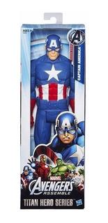 Capitán América Muñeco Figura 30 Cm Original Hasbro