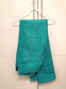 Calça Jeans Verde Masculina
