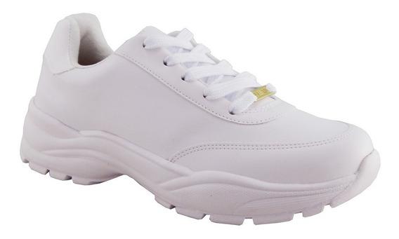 Tenis Vizzano Feminino Sneaker Branco 1331.101 Tendência