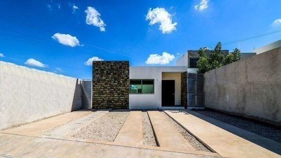 Casa En Venta En Merida, Santa Rita Cholul Es Casa De Un Piso.