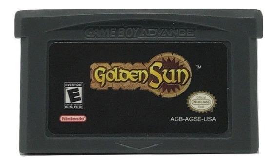 Golden Sun Game Boy Advance Gba Nintendo Ds Fat Nds Lite