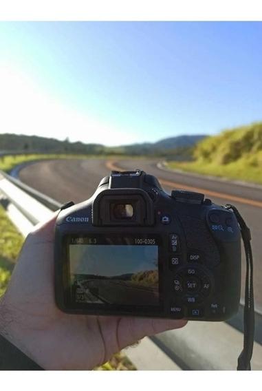 Kit Câmera Canon T7 + Lente 18-55
