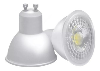 Pack 10 Lampara Dicroica Led 7w Gu10 220v