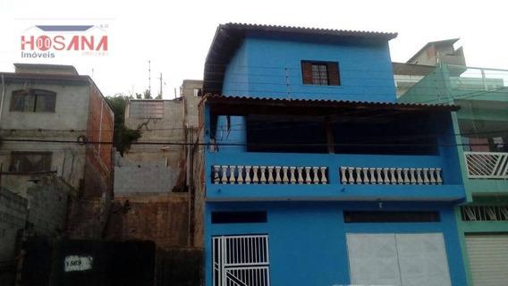 Sobrado Residencial Para Venda E Locação, Jardim Marcelino, Caieiras. - So0458