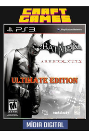 Batman Arkham City Ultimate Edition Ps3 Digital Ps3