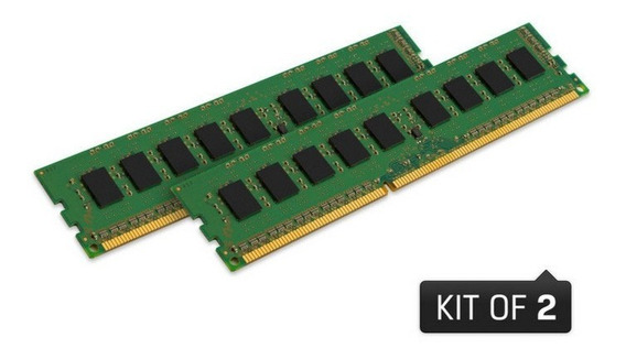 Memoria Kingston Ddr3 Kvr16ln11k2/16 16gb Kit (2x8gb) 1600mhz Ddr3 Non-ecc Cl11 Udimm Low Voltage 1.35v