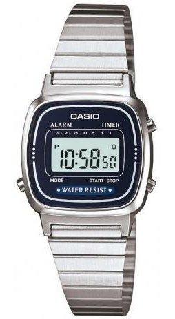 Relógio Casio Vintage Feminino La670wa-2df C/ Nf E Garantia