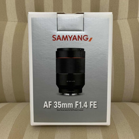 Samyang 35mm F/1.4 Fe Sony E-mount