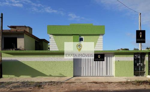 Imagem 1 de 15 de Casa Tipo Apartamento Com Quintal/terraço, Jardim Bela Vista/ Rio Das Ostras. - Ca1021