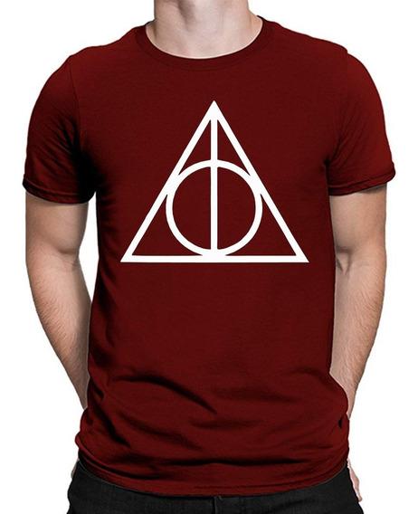 Playera O Camiseta Reliquias Logo Harry Potter Todas Tallas