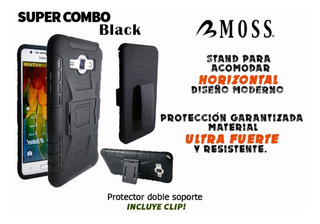 Funda Uso Rudo 3 En 1 Motorola Moto Z2 Play !!