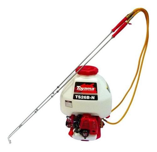 Pulverizador Costal Gasolina 25l 2 Lanças Ts26b-n Toyama