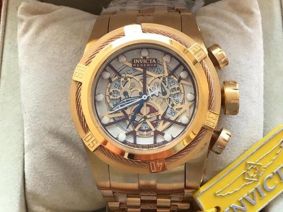 Relógio Masculino Invicta Bolt Zeus Dourado