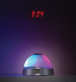 Oferta! Luz Despertador Betterware 17327 Cambia De Colores