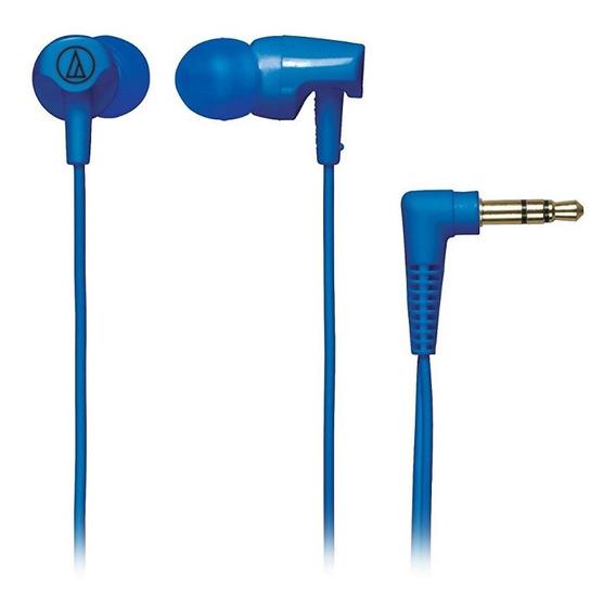 Fone De Ouvido Audio Technica Clr100 Clear Sound Azul