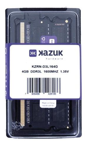 Memória RAM  4GB 1x4GB Kazuk KZRN-D3L164G