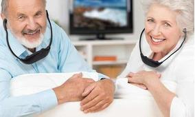 Health Pyle - Sistema De Audição Surdez Sem Fio Tv E Microfo