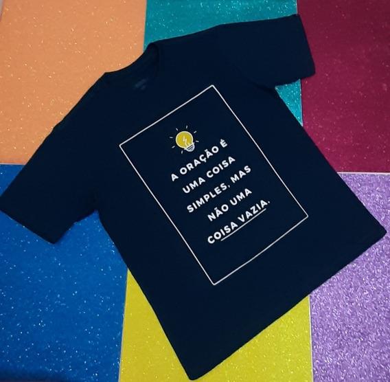 Camisa Camiseta Masculina Cristã Oração