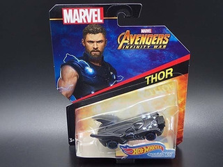 Hot Wheels De Caracteres Coches 2018 Marvel Avengers Thor In