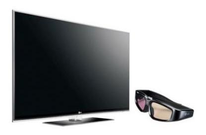 Tv De Led,lcd 3d Lg 55