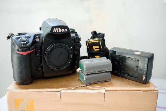 Câmera Nikon D700-fx 12mp Full Frame