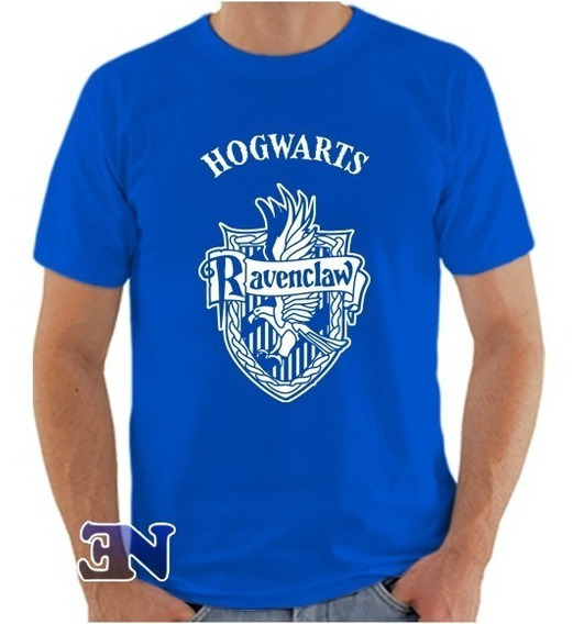 Camiseta Ravenclaw Corvinal Hogwarts Harry Potter