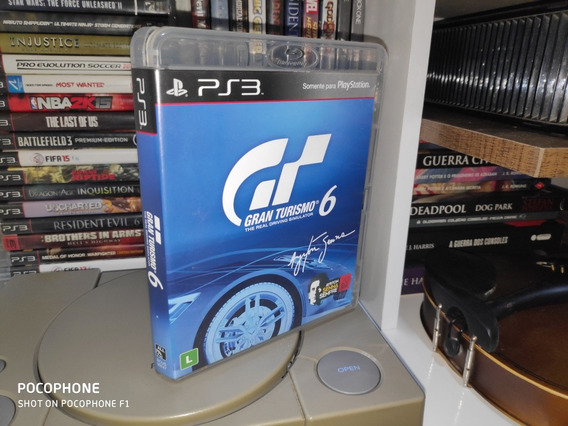 Gran Turismo 6 - Ps3 - Jogo De Corrida