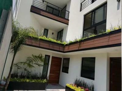 Casa Nueva En Venta, Col. Insurgentes Mixcoac