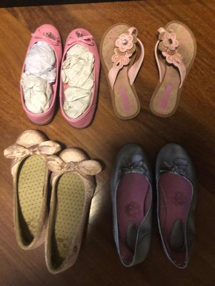 Lote Sapatos Sapatilhas Tam 30 Novos Seminovos