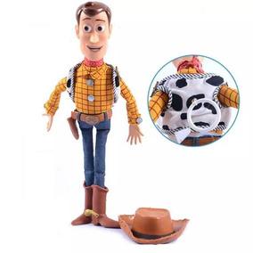 Toy Story Xerife Woody 38cm Fala Em Inglês (novo Sem Caixa)