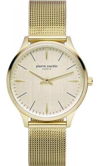 Reloj Pierre Cardin A.pc902282f14 Acero Dorado Para Dama