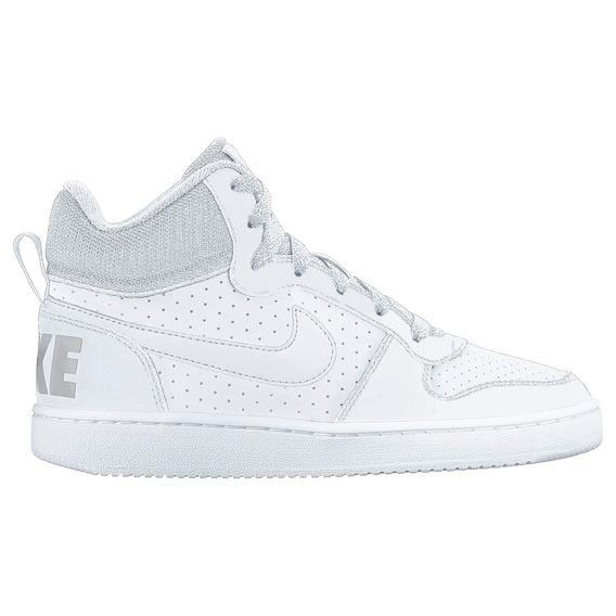 Tênis Nike Court Borough Mid - Feminino - Branco