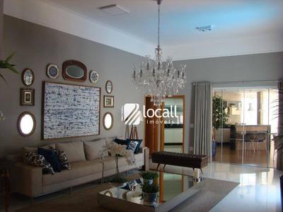 Casa Com 3 Dormitórios À Venda, 250 M² Por R$ 1.200.000 - Parque Residencial Damha V - São José Do Rio Preto/sp - Ca1951