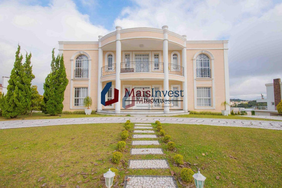 Casa Com 4 Dormitórios À Venda, 347 M² - Alphaville Graciosa - Pinhais/pr - Ca0053