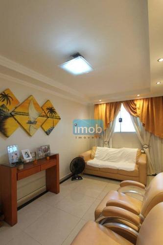 Casa Com 3 Dormitórios À Venda, 110 M² Por R$ 560.000,00 - Macuco - Santos/sp - Ca0350