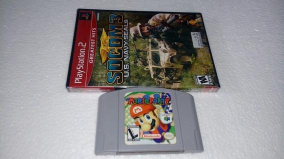 Mario Party 1 N/64 Gradiente Original + 1 Jogo Play 2 Novo