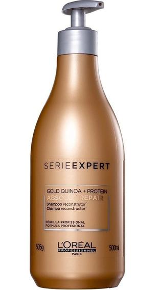 Shampoo Loreal Absolut Repair Gold Quinoa + Protein 500ml