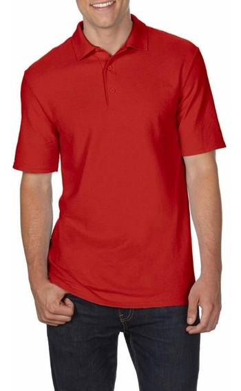 Camiseta Polo Tallas Extra Rojo 2xl 3xl 4xl 5xl (big And Tall) Original