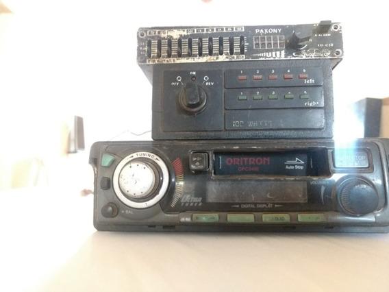 Lote De Radio E Equalizadores Década 80 E 90