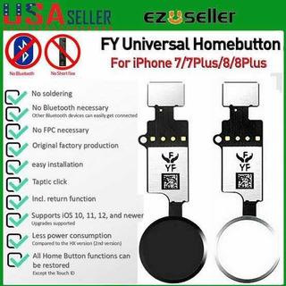 Botão Volta Click Yf Para iPhone 7 8 7 Plus 8 Plus