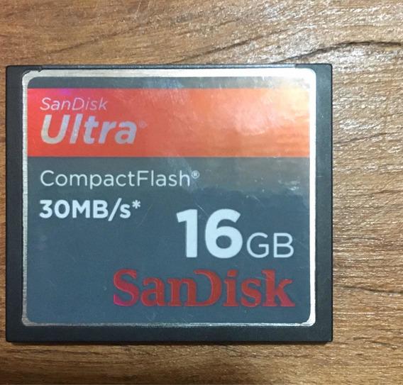 Cartão De Memória Sandisk Compactflash 16gb