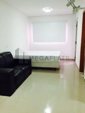 06938 - Flat 1 Dorm, Campo Belo - Sao Paulo/sp - 6938