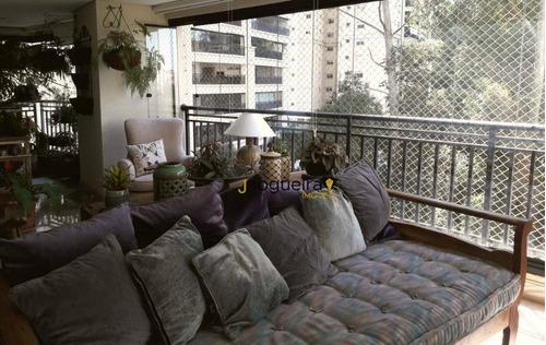 Apartamento Com 4 Dormitórios Para Alugar, 190 M² Por R$ 9.500,00/mês - Jardim Marajoara - São Paulo/sp - Ap14933
