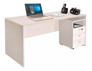 Escritorio Oficina Platinum Mod 503 1.50 M 3 Cajones