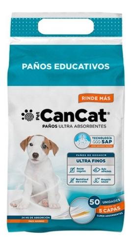 Paños De Entrenamiento Para Perro Premium X 50 Un Cancat