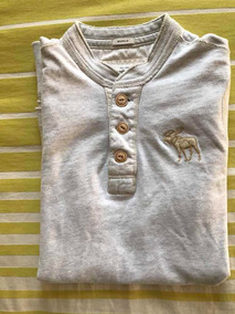 Abercrombie & Fitch Playera Henley