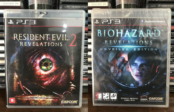 Biohazard - Resident Evil Revelations 1 E 2 Ps3
