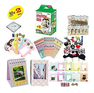 Kit De Accesorios Para Cámara Fujifilm Instax Mini 8 20 Film